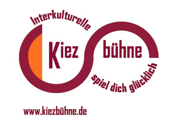 Kiezbühne logo weiß